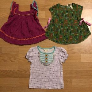 """Matilda Jane"" tops size 2"